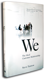 We: The Ideal Customer Relationship Book Cover