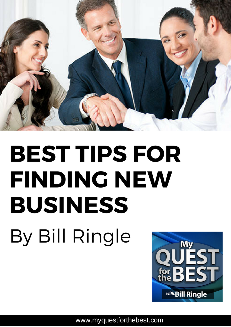 Best Tips for Finding New Business