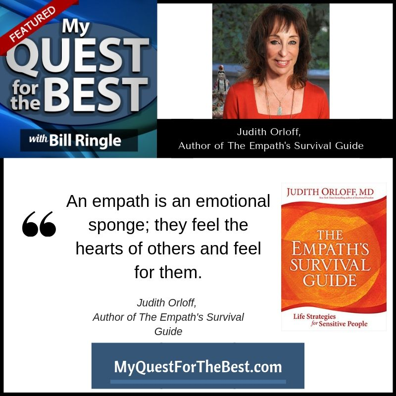 MQ4B-Judith Orloff, Author of The Empath's Survival Guide