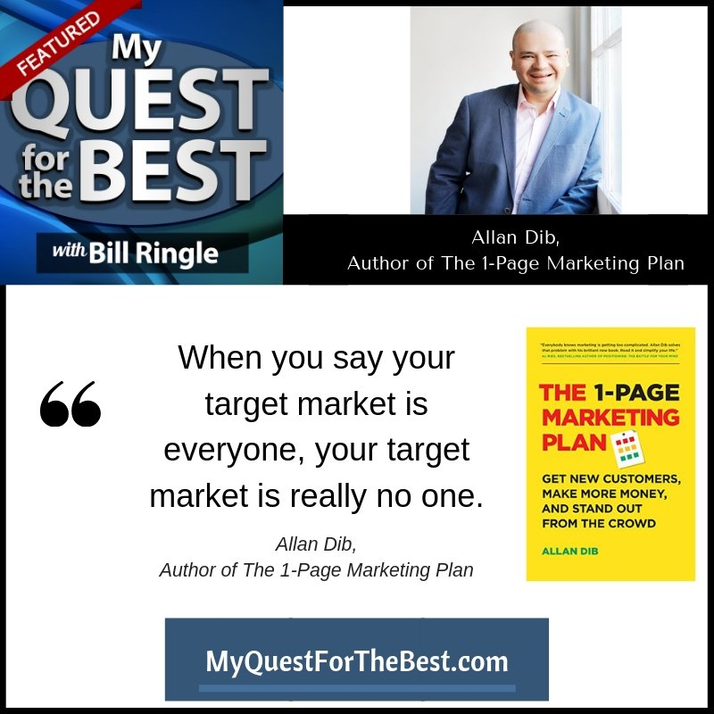 MQ4B-Allan Dib,  Author of The 1-Page Marketing Plan